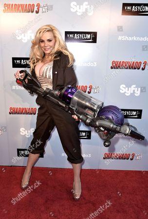 Editorial image of 'Sharknado 3: Oh Hell no!' film premiere, Los Angeles, America - 22 Jul 2015
