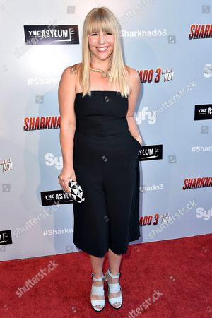 Editorial picture of 'Sharknado 3: Oh Hell no!' film premiere, Los Angeles, America - 22 Jul 2015