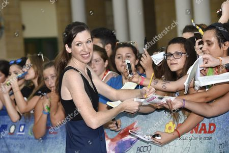 Lauren Kate receives Giffoni Experience Award 2015 and fans