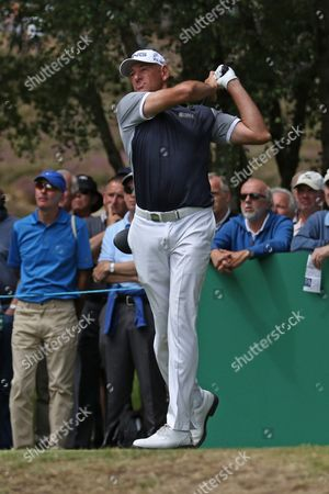 Stock Picture of Peter Fowler during The Senior Open Championship at Sunningdale Golf Club, Sunningdale