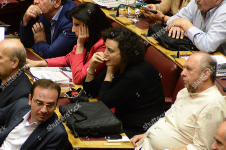 Editorial picture of Parliamentary session, Athens, Greece  - 22 Jul 2015