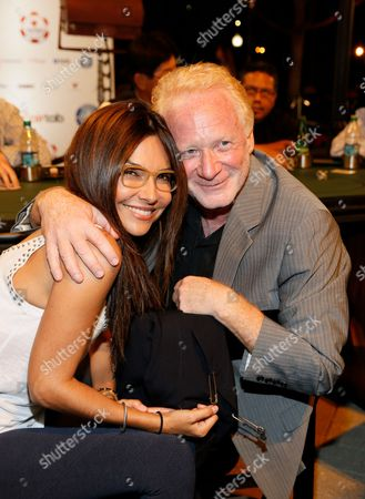 Stock Photo of Vanessa Marcil and Don Most