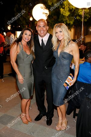 Stock Image of Lisa Marie Varon, Tito Ortiz and Torrie Wilson