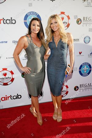 Stock Picture of Lisa Marie Varon and Torrie Wilson