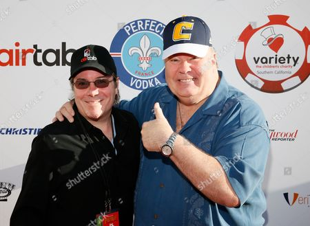 Host Jamie Gold and Dennis Haskins