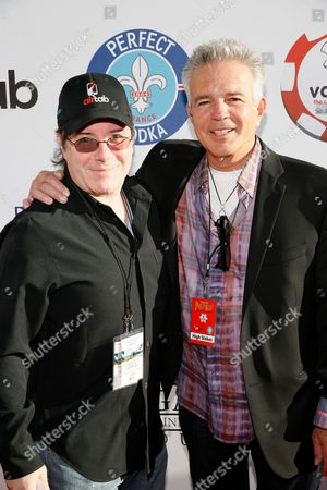 Host Jamie Gold and Tony Denison