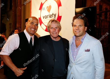 Tito Ortiz, Gary Busey and Producer Michael Ohoven