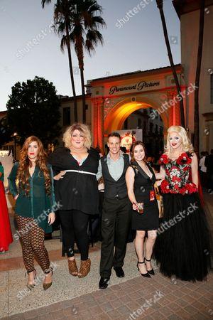 Chanel Perrillo, Vicky Vox, Jason King, Jillian Clare and Pandora Boxx