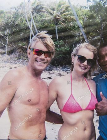 """Christopher Atkins and Sandra Ankarbjörk in Fiji to commemorate the 35th anniversary of movie """"The Blue Lagoon"""""""