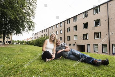Editorial picture of Christopher Atkins and Sandra Ankarbjörk, Skövde, Sweden - 19 Jul 2015