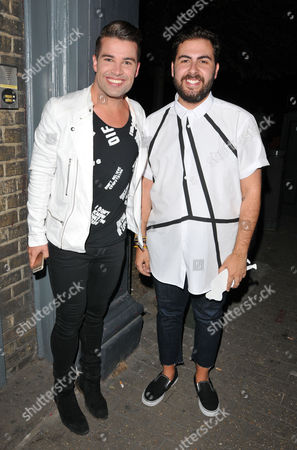 Joe McElderry and Andrea Faustini