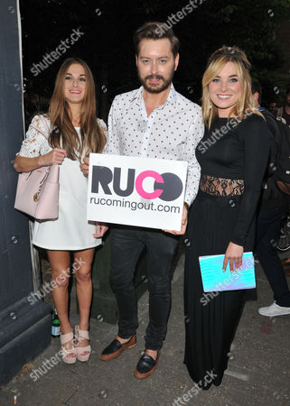 Nikki Grahame, Brian Dowling and Sian Welby