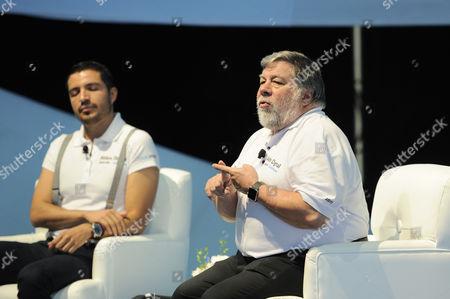 Stephen Wozniak with guest