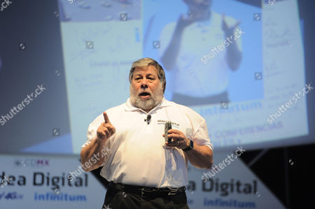 Stock Image of Stephen Wozniak