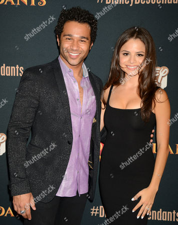 Corbin Bleu and wife Sasha Clements