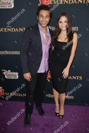 Corbin Bleu and Sasha Clements