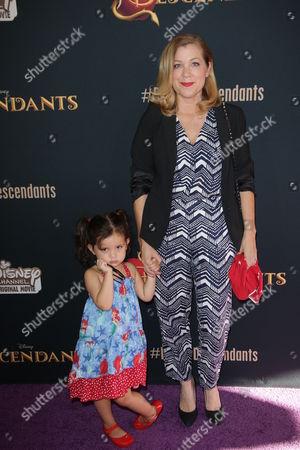 Jennifer Aspen and daughter Charlotte Sofia O'Donnell