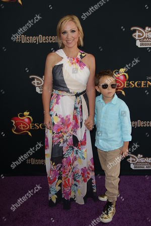 Stock Photo of Leigh-Allyn Baker and son Baker James Kauffman
