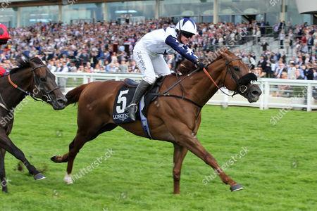 Ascot The Longines Handicap Stakes. Winner: Peril. Trainer: Simon Crisford. Jockey: Miss S Brotherton