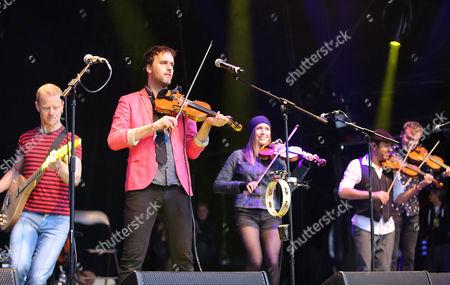 Editorial image of Womad Festival, Charlton Park, Malmesbury, Wiltshire, Britain - 24 Jul 2015