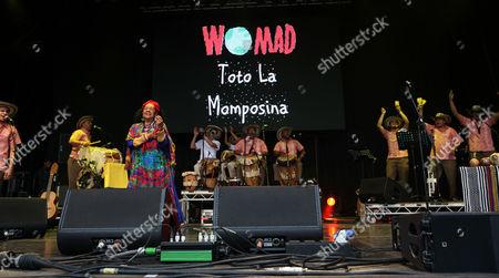 Editorial picture of Womad Festival, Charlton Park, Malmesbury, Wiltshire, Britain - 24 Jul 2015