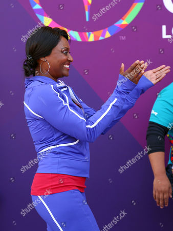 Editorial photo of Special Olympics Games, Track and Field Medal Ceremony, Los Angeles, America - 26 Jul 2015