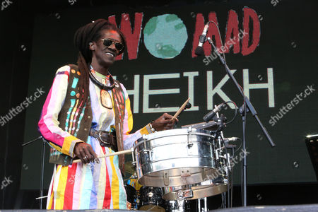 Editorial picture of Womad Festival, Charlton Park, Malmesbury, Wiltshire, Britain - 25 Jul 2015