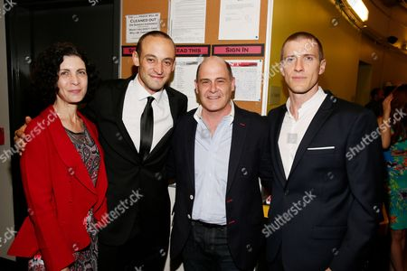 Linda Brettler, Charlie Hofheimer, Matthew Weiner and Patrick Heusinger