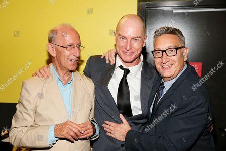 Martin Sherman, Hugo Armstrong and Moises Kaufman