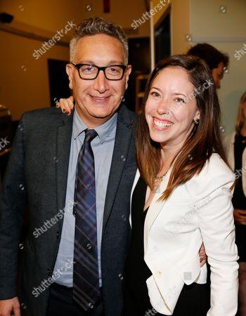 Moises Kaufman and Lindsay Allbaugh