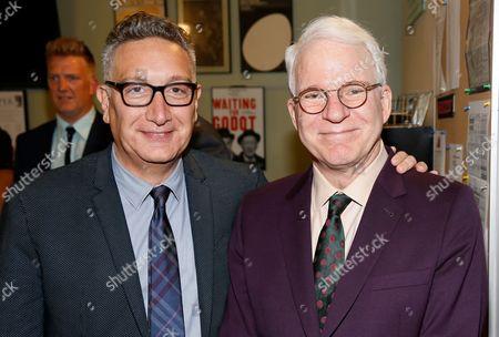 Moises Kaufman and Steve Martin