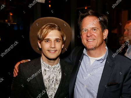 Stock Image of Andy Mientus and David Marshall Grant