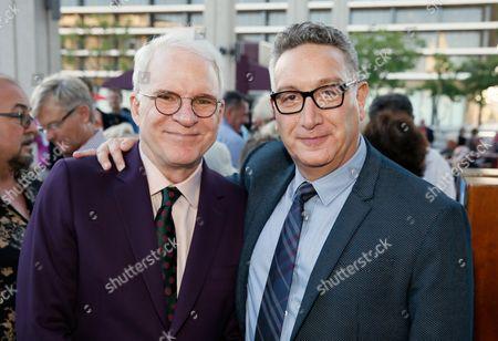 Steve Martin and Moises Kaufman