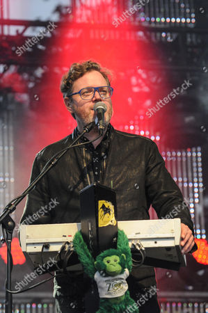 Kevin Hearn of Barenaked Ladies performs