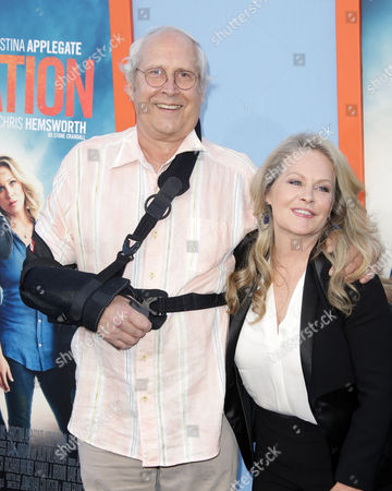 Stock Image of Chevy Chase and Beverly D'Angelo
