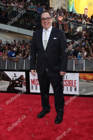 Editorial photo of 'Mission: Impossible - Rogue Nation' film premiere, New York, America - 27 Jul 2015