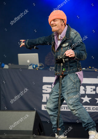 Stock Image of Stereo MC's - Nick Hallam stage name The Head