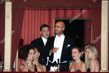 Christina Lugner, Saif al-Islam Gaddafi, Carmen Electra