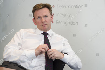 Stock Photo of Mark Horgan CEO of 'Moneycorp' one of Britain's leading foreign exchange businesses