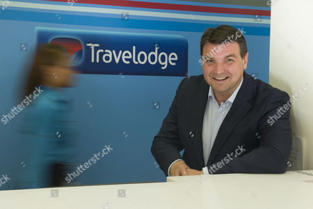 Peter Gowers the chief executive of the Travelodge company