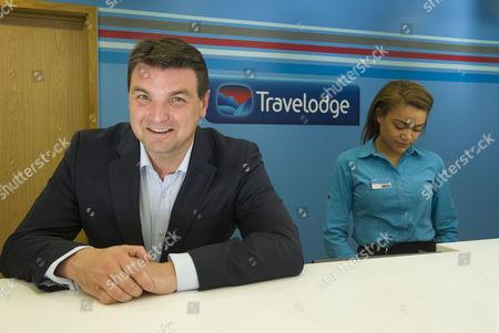 Editorial photo of Peter Gowers , Travelodge Hotel,  Waterloo Road, London Britian - 30 Jun 2015