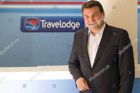 Editorial image of Peter Gowers , Travelodge Hotel,  Waterloo Road, London Britian - 30 Jun 2015