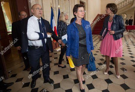 Michel Sapin, Clotilde Valter, Marisol Touraine