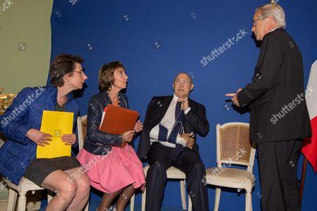 Michel Sapin, Clotilde Valter, Touraine Minister