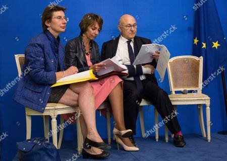 Clotilde Valter, Marisol Touraine, Michel Sapin