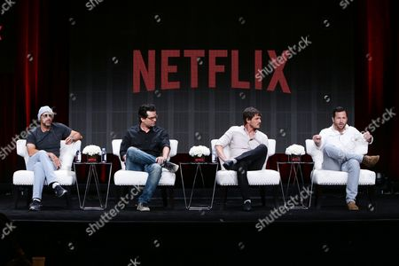 Stock Picture of Jose Padilha, Wagner Moura, Pedro Pascal, Luka Magnotta