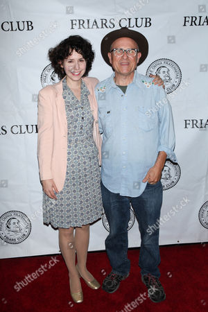 Stock Image of Nellie McKay and Bobcat Goldthwait