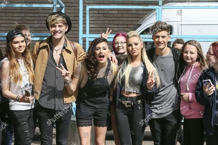 Only The Young - Parisa Tarjomani, Betsy-Blue English, Mikey Bromley and Charlie George