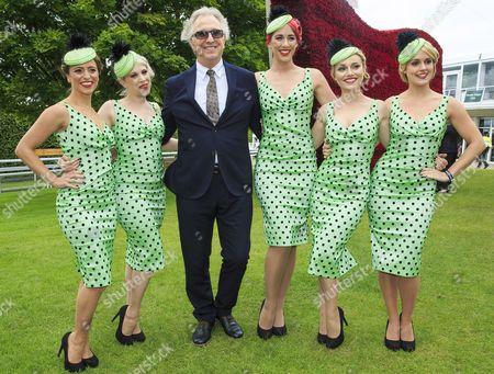 Alan Rickman with Elle & the Pocket Belles