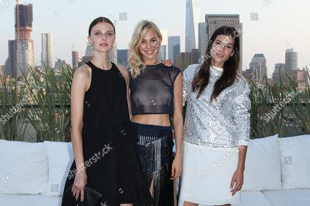Vasilisa Pavlova, Britt Maren and Sheila Marquez